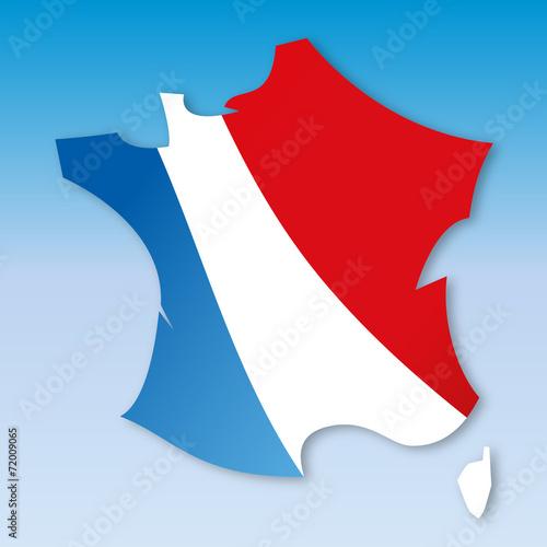 Fototapeta  Carte France-2