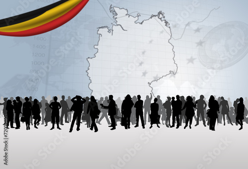 Photo  Citoyens allemands