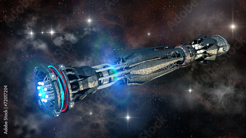 wojskowy-statek-kosmiczny-w-stanie-inicjacji-napedu-warp