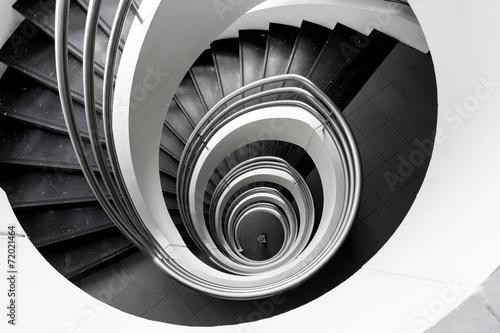 Photo Stands Stairs Escalier à puis central