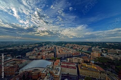 Panorama su Roma © massimhokuto