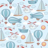 Seamless transportation pattern.