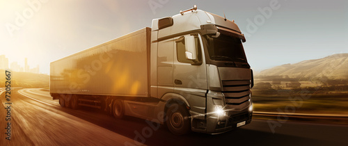 Fotografiet  Truck Panorama