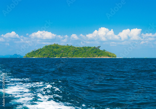 Poster Waterlelies Idyllic Seascape Heaven On Earth