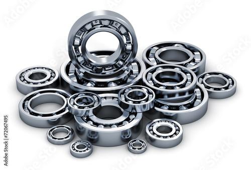 Fotografía  Collection of ball bearings