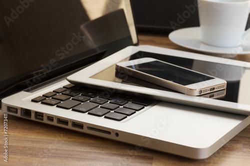 Fotografia  modern computer gadgets
