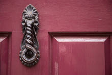 A Decorative Victorian Door Kn...