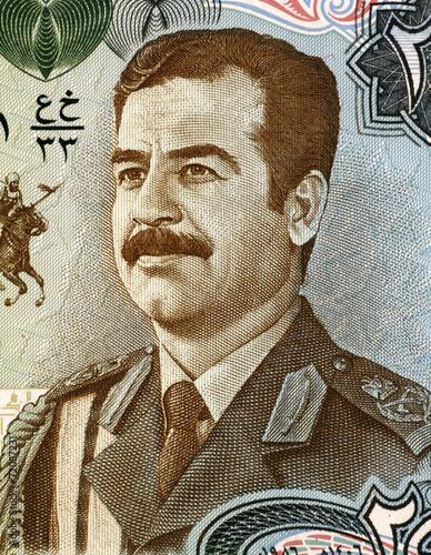 Fotografie, Obraz  Saddam Hussein