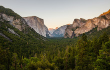 Tunnel View,Yossemite National Park