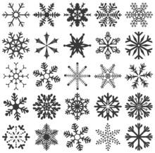Snowflakes Set 25