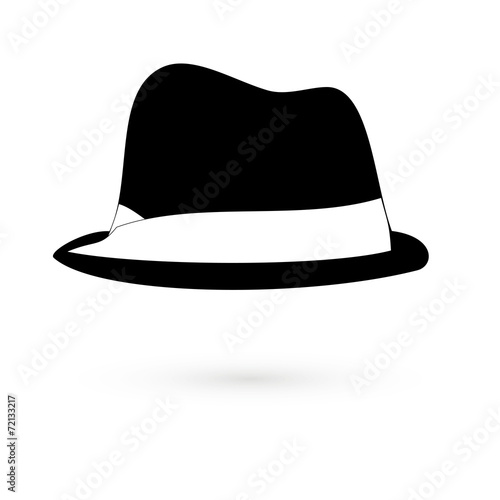 dce3705b05cdf Icon black hats. Raster. - Buy this stock illustration and explore ...