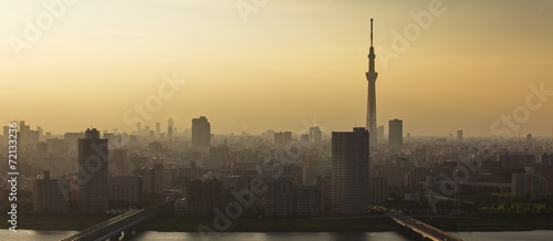 Tokyo sky tree and Tokyo city view