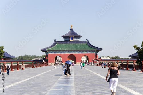 Foto op Aluminium Beijing Beijing. Vermilion Steps Bridge. Temple of Heaven (Tiantan) - 4