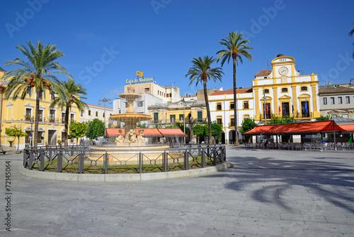 Fotografija  Spain Square in Merida.