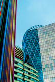 modern building with glasses at the business district - 72159840