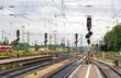 Augsburg railway station - Germany, Bavaria