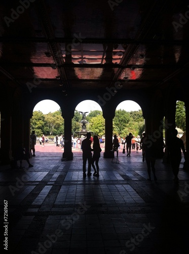 Fotografía  arches of the terrace Bethesda Fountain