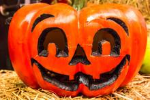 Jack O Lanterns Halloween Pumpkin Face.