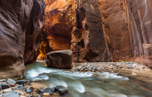 The Narrows Trail, Zion Nation...