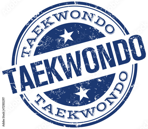 Obrazy Taekwondo   taekwondo-stamp