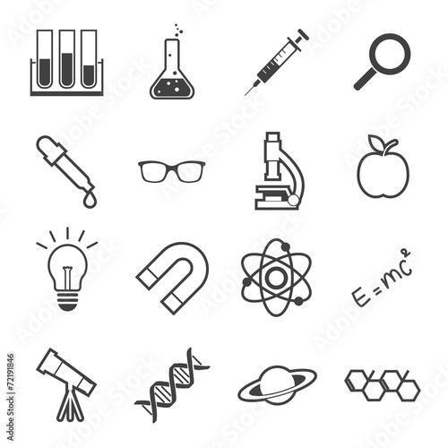 Fotografie, Obraz  science icon