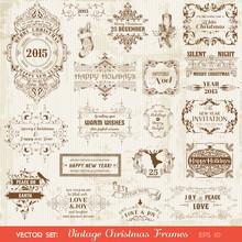 Christmas Calligraphic Design ...