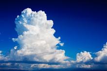 Cumulonimbus Cloud In A Deep B...