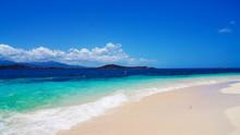 Playa De La Isla De Icacos. Puerto Rico