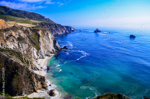 Photo sur Aluminium Cote california coast
