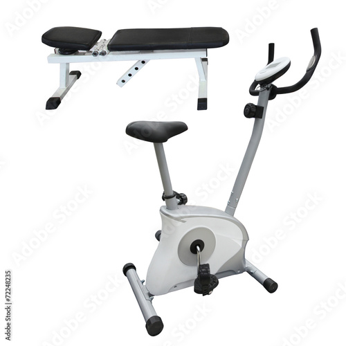 Foto op Plexiglas Fitness Gym apparatus