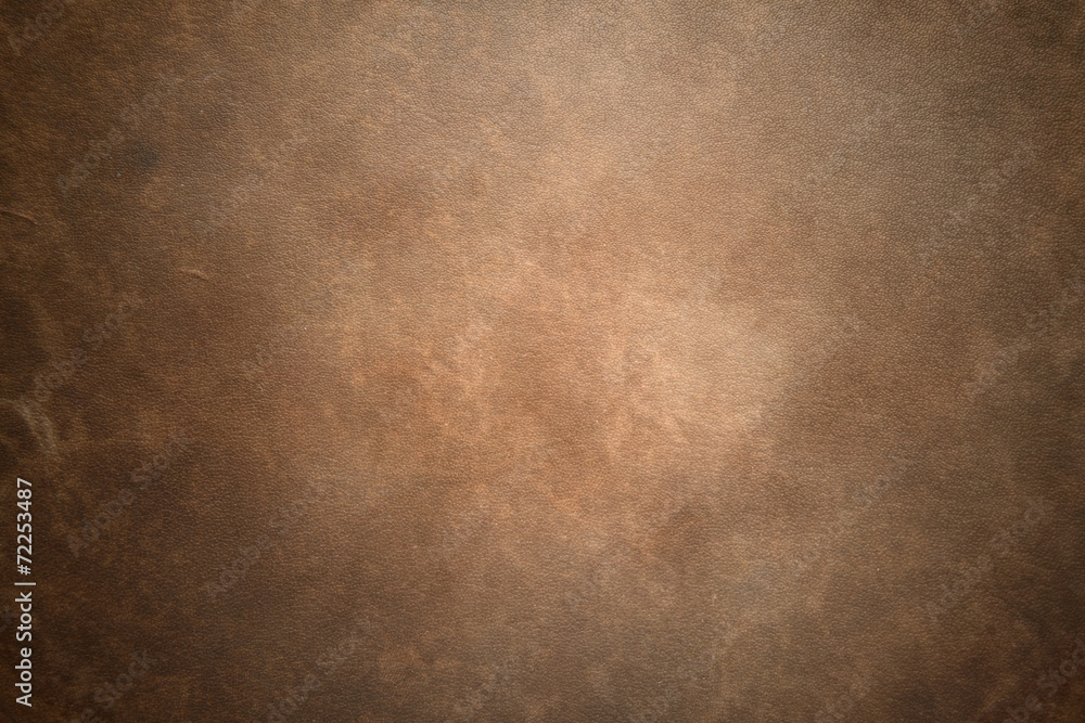 Fototapety, obrazy: Old vintage brown leather background