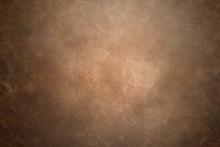 Old Vintage Brown Leather Back...