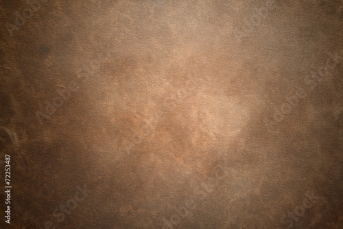 Foto auf Leinwand Retro Old vintage brown leather background
