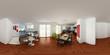 360° livingroom rendering 3d