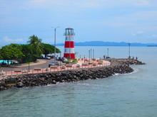 Costa Rica - Phare De Puntarenas Port De Puntarenas