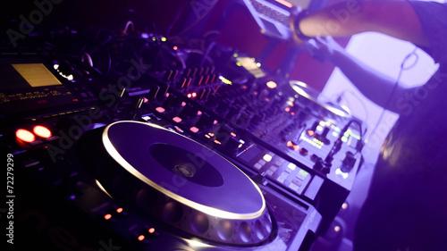 Fotografie, Obraz  Platines de DJ