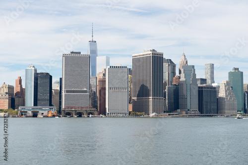 Tuinposter New York City Promenade à New York