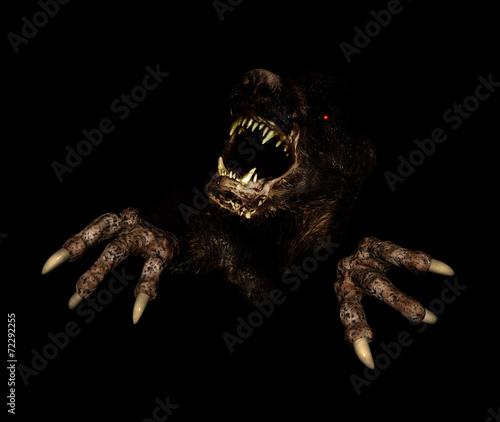 Fotografie, Obraz  Monster in dark