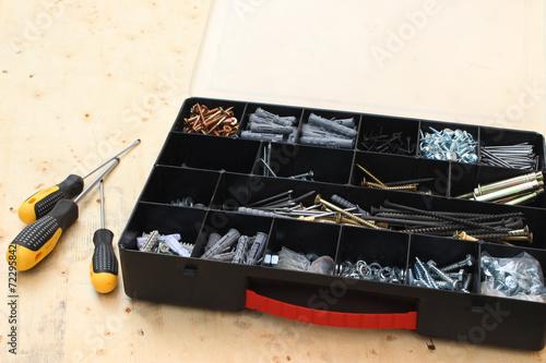 Foto op Aluminium Tool box