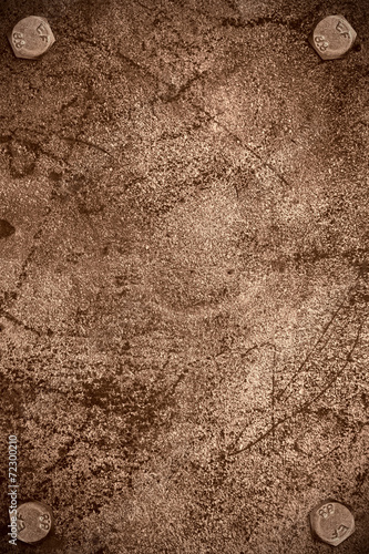 brown steel background Wallpaper Mural