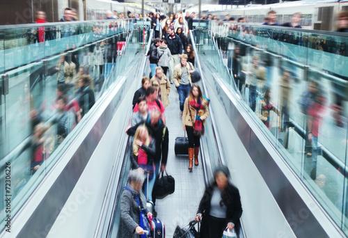 Fototapeta Gare train obraz