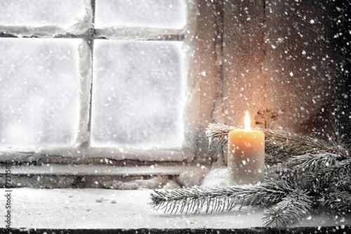 snow плакат