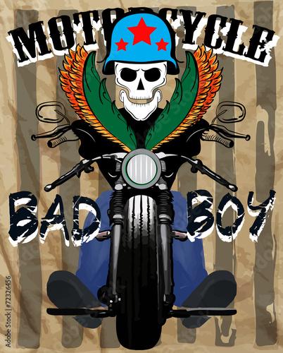 motocykl-czlowiek-t-shirt-projektowanie-graficzne