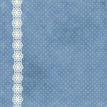 Retro Polka Dotted Background