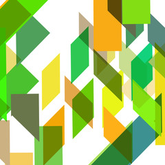 FototapetaAbstract geometric shape