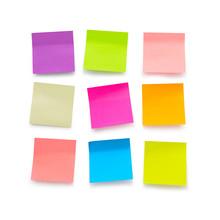Blank Sticky Notes