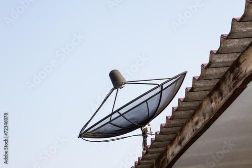 Canvas Prints Bridge Satellite