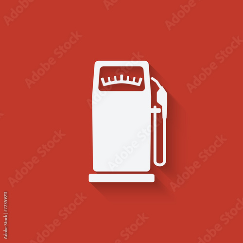 Fotografie, Obraz  gasoline pump