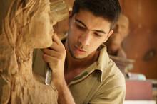 Sculptor Young Artist Artisan ...