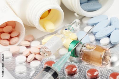 Fotografering  Pills/drug